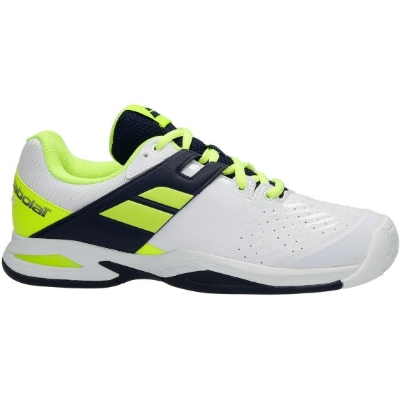 Кроссовки детские Babolat Propulse All Court White/Blue/Yellow  33F17478-292 - фото 10707