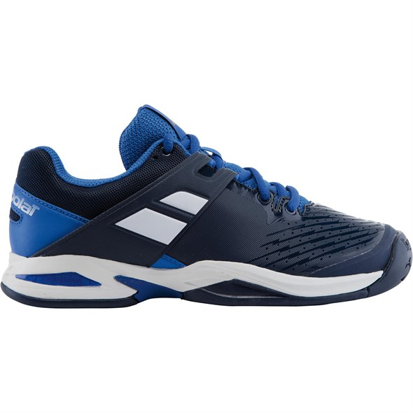 Кроссовки детские Babolat Propulse All Court Blue/White  32S17478-102 - фото 10719