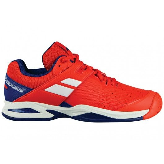 Кроссовки детские Babolat Propulse All Court Red/Blue  32S18478-5016 - фото 10729