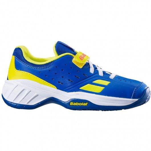 Кроссовки детские Babolat PULSION ALL COURT KID BLUE/AERO  32S19518-4043 - фото 10770