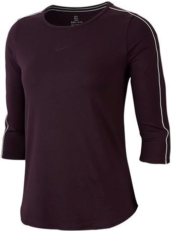 Футболка женская Nike Court 3/4 Sleeve  AQ7658-659  su19 - фото 11378