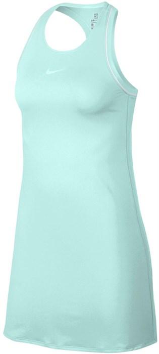 Платье женское Nike Court Dry Teal Tint/White  939308-336  su19 - фото 11843