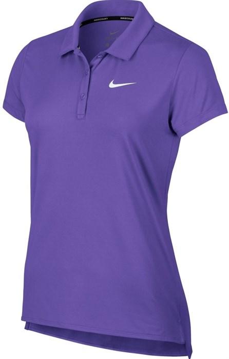 Поло женское Nike Court Pure Psychic Purple  830421-550  fa19 - фото 12277