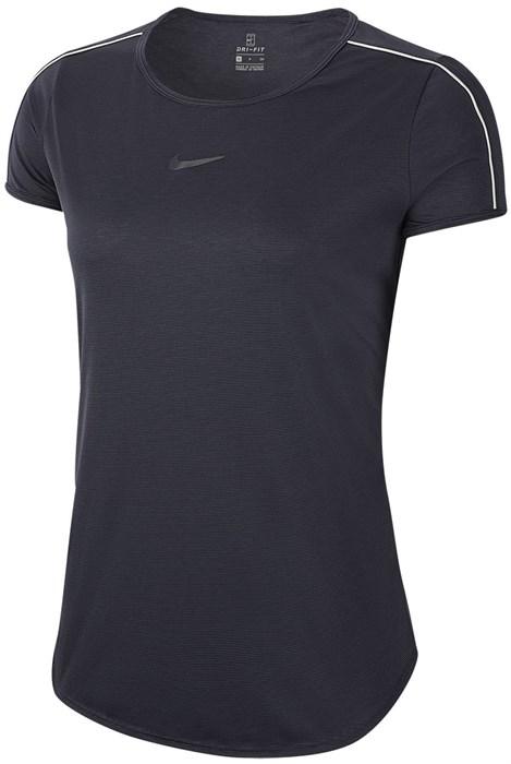 Футболка женская Nike Court Dry  939328-015  fa19 - фото 12284