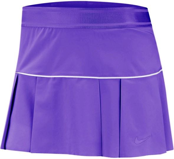 Юбка женская Nike Court Victory Psychic Purple/White  AT5724-550  fa19 - фото 12307