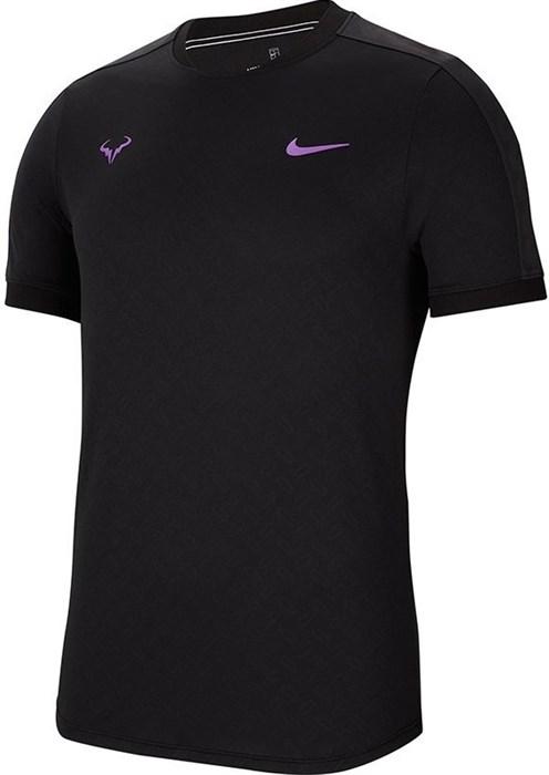 Футболка мужская Nike Court AeroReact Rafa  AT4182-010  fa19 - фото 12508