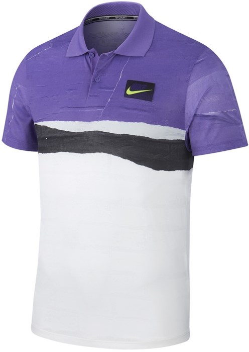 Поло мужское Nike Court Advantage New York  AT4155-550  fa19 - фото 12559