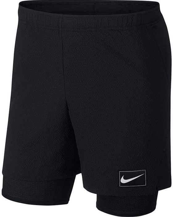 Шорты мужские Nike Court Ace Pro Line 7 Inch Black  AV4906-010  fa19 - фото 12572