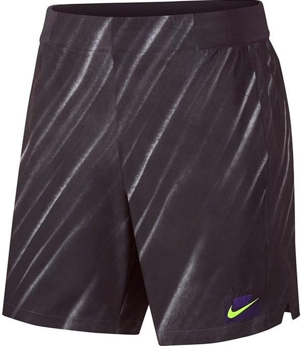 Шорты мужские Nike Court Flex Ace New York 9 Inch Off Noir/Volt  AT4319-045  fa19 - фото 12593
