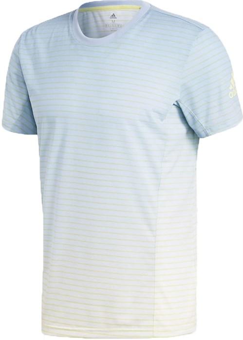 Футболка мужская Adidas Melbourne Striped  CD3273  sp18 - фото 13875