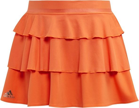 Юбка для девочек Adidas Frill Orange  EC3562  fa19 - фото 14323