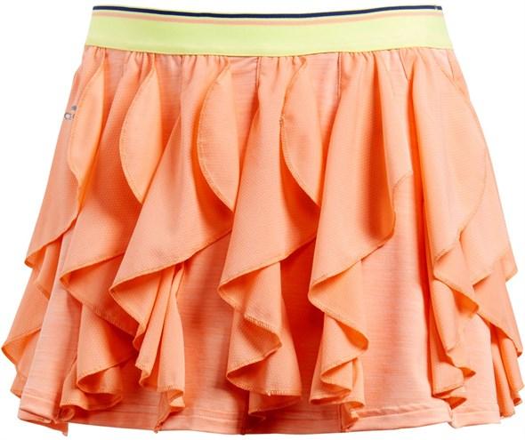 Юбка для девочек Adidas Frilly Peach/Lime  CW1639  sp18 - фото 14349