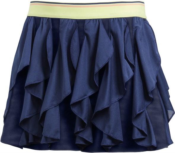 Юбка для девочек Adidas Frilly Blue/Lime  CW1640  sp18 - фото 14358
