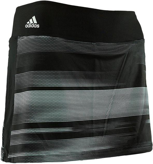 Юбка для девочек Adidas Advantage Black/Turquoise  BQ0162  fa17 - фото 14394