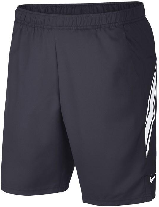 Шорты мужские Nike Court Dry 9 Inch Gridiron/White  939265-015  sp20 - фото 16132