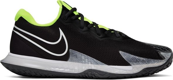 Кроссовки мужские Nike Air Zoom Vapor Cage 4 HC Black/Volt/White  CD0424-001  sp20 - фото 16200