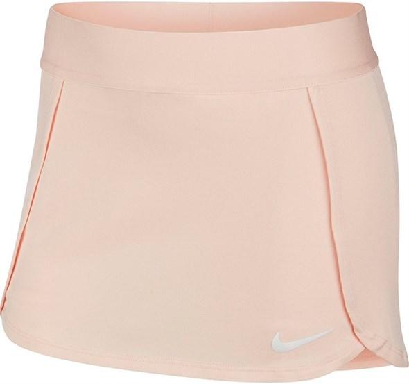 Юбка для девочек Nike Court Dry Washed Coral/White  BV7391-664  sp20 - фото 17379