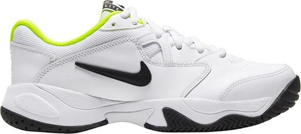Кроссовки детские Nike Court Lite 2 White/Black/Volt  CD0440-104  sp20 - фото 17647