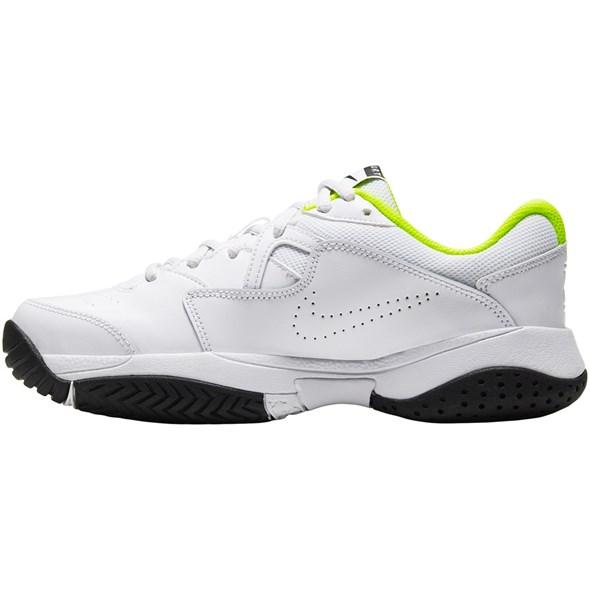 Кроссовки детские Nike Court Lite 2 White/Black/Volt  CD0440-104  sp20 - фото 17648