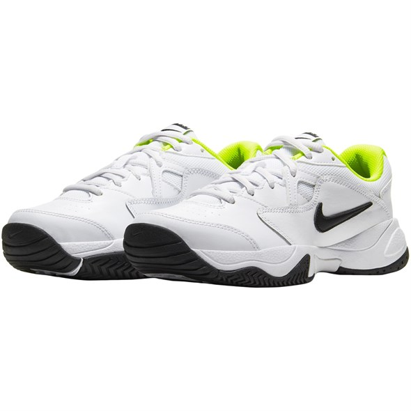 Кроссовки детские Nike Court Lite 2 White/Black/Volt  CD0440-104  sp20 - фото 17649