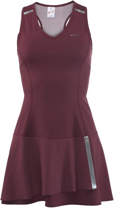 Платье женское Head Perfomance Burgundy  814028-BW su18 - фото 17956