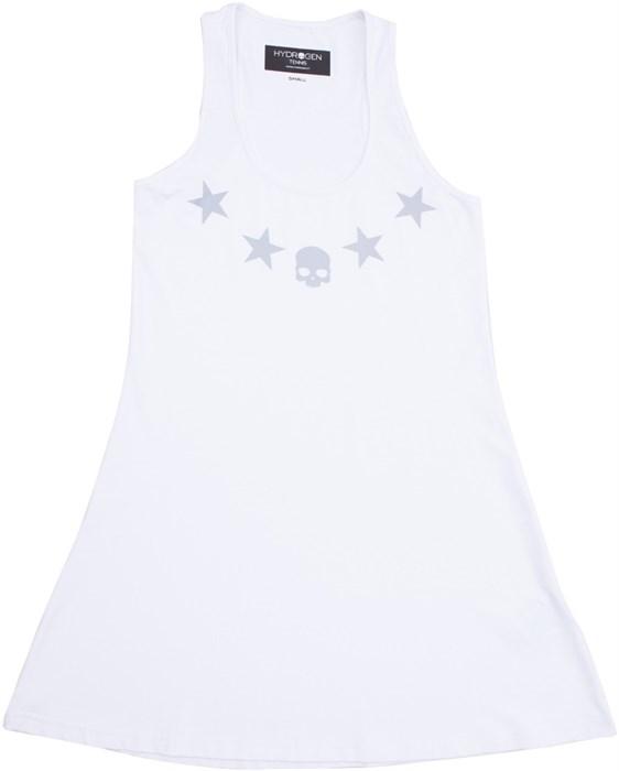 Платье женское Hydrogen Star Tech White  T00110-001 - фото 18156