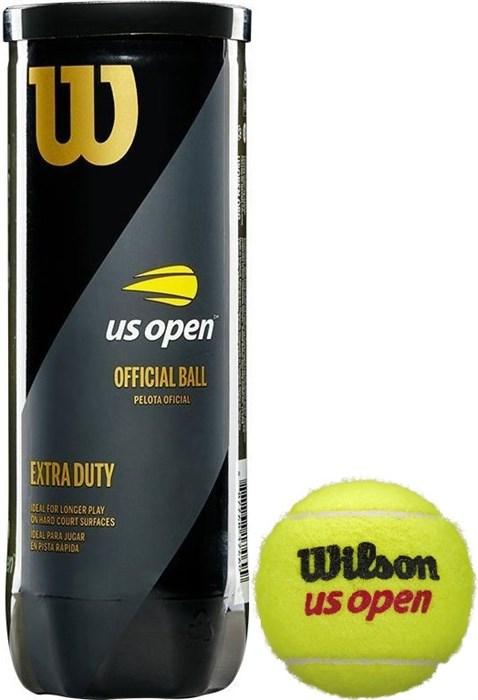 Мячи теннисные Wilson US Open 3 Balls  WRT106200 - фото 19535