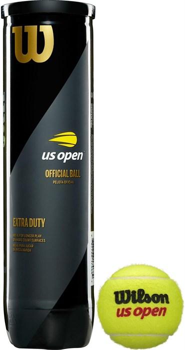 Мячи теннисные Wilson US Open 4 Balls  WRT116200 - фото 19537