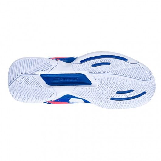 Кроссовки детские Babolat Pulsion All Court White/Dazzling Blue  32/33S20482-1044 - фото 20322