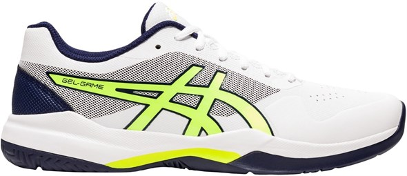 Кроссовки мужские Asics Gel-Game 7 White/Safety Yellow  1041A042-106  su20 - фото 20802