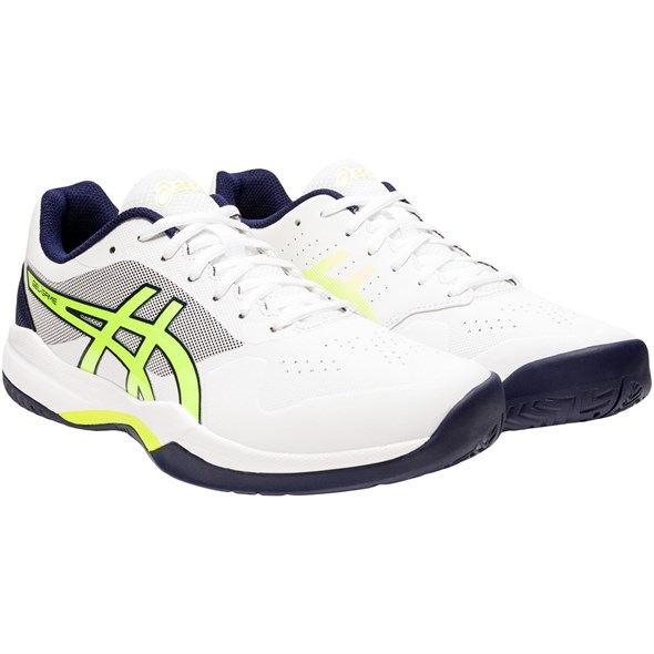 Кроссовки мужские Asics Gel-Game 7 White/Safety Yellow  1041A042-106  su20 - фото 20804
