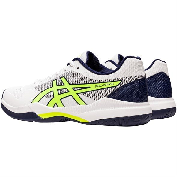 Кроссовки мужские Asics Gel-Game 7 White/Safety Yellow  1041A042-106  su20 - фото 20805