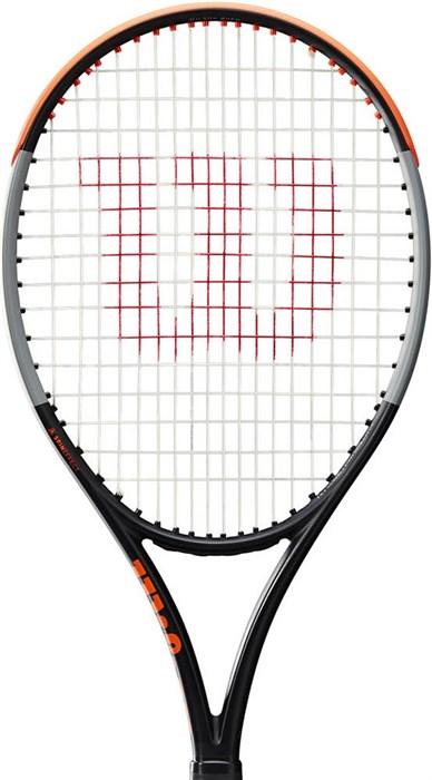 Ракетка теннисная Wilson Burn 100LS V4.0  WR044910 - фото 21551