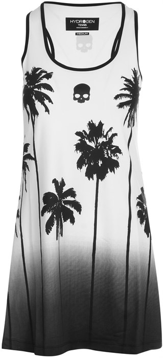 Платье женское Hydrogen Palm Tank White/Black  T01406-001 - фото 22367
