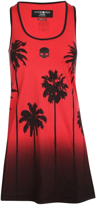 Платье женское Hydrogen Palm Tank Red/Black  T01406-002 - фото 22369