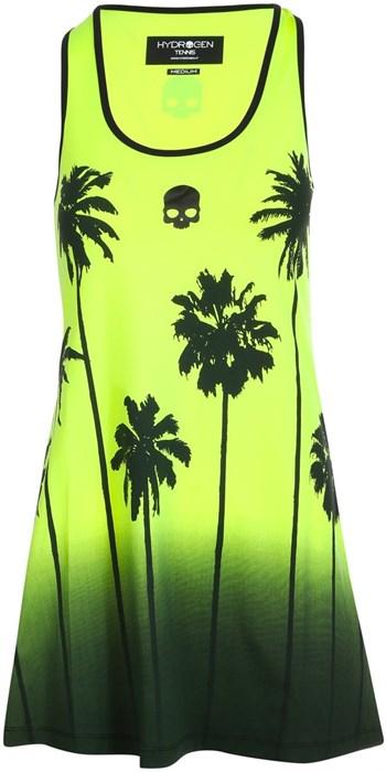 Платье женское Hydrogen Palm Tank Fluo Yellow/Black  T01406-724 - фото 22371