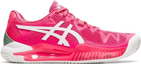 Кроссовки женские Asics Gel-Resolution 8 Clay Pink Cameo/White  1042A070-702  sp21 - фото 22716