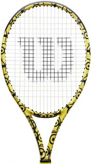 Ракетка теннисная Wilson Ultra 100 Minions  WR064811 - фото 23761