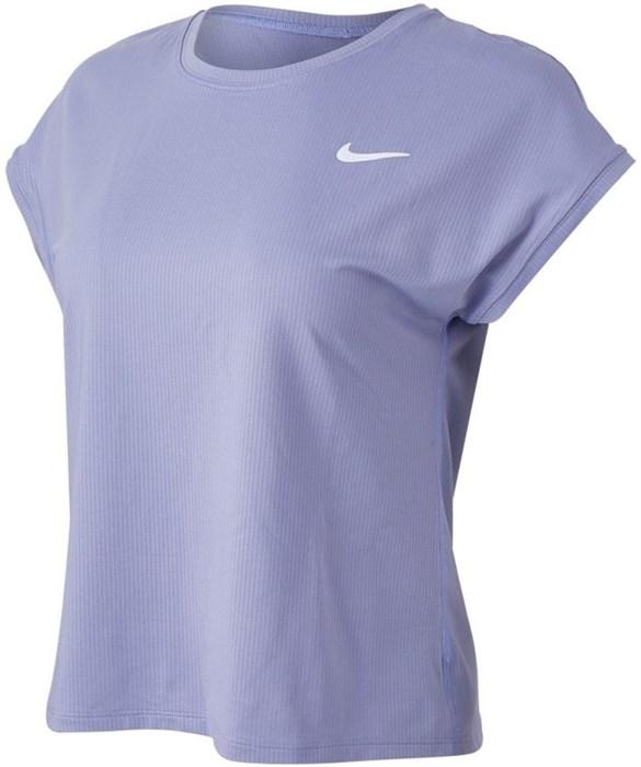 Футболка женская Nike Court Dri-Fit Victory Indigo Haze/White  CV4790-519  sp21 - фото 23986