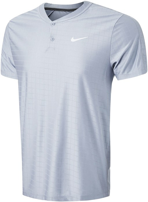 Поло мужское Nike Court Advantage Indigo Haze/White  CV2499-519  sp21 - фото 23998