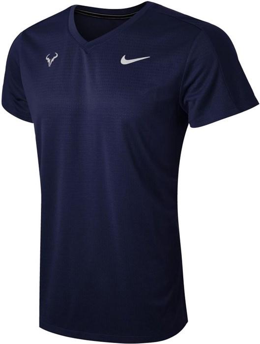 Футболка мужская Nike Court Rafa Challenger Obsidian  CV2572-451  sp21 - фото 24010