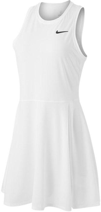 Платье женское Nike Court Advantage White/Black  CV4692-100  sp21 - фото 24026