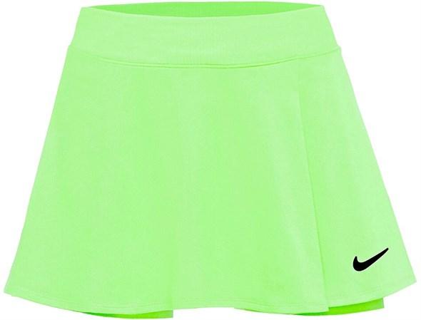 Юбка женская Nike Court Victory Flouncy Lime Glow/Black  CV4732-345  sp21 - фото 24038