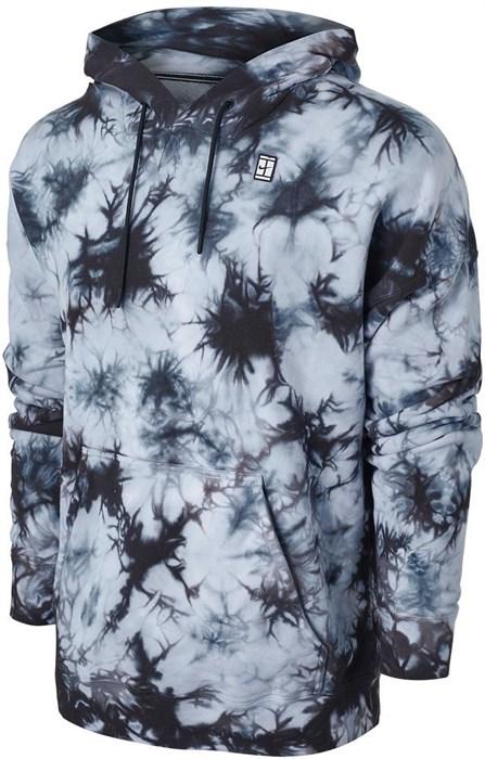 Кофта мужская Nike Court Fleece Tie-Dye White  DC9684-100  sp21 - фото 24102