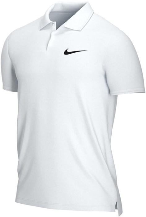 Поло мужское NikeCourt Dry Victory  White/Black  CW6849-100  sp21 - фото 24141