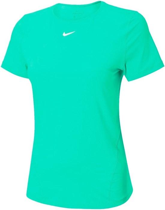 Футболка женская Nike Pro Short Sleeve  AO9951-342  sp21 - фото 24156