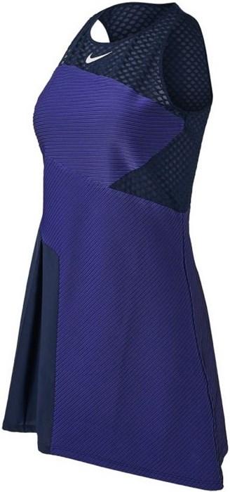 Платье женское Nike Court Advantage Slam Obsidian/White  CV4865-451  su21 - фото 24491
