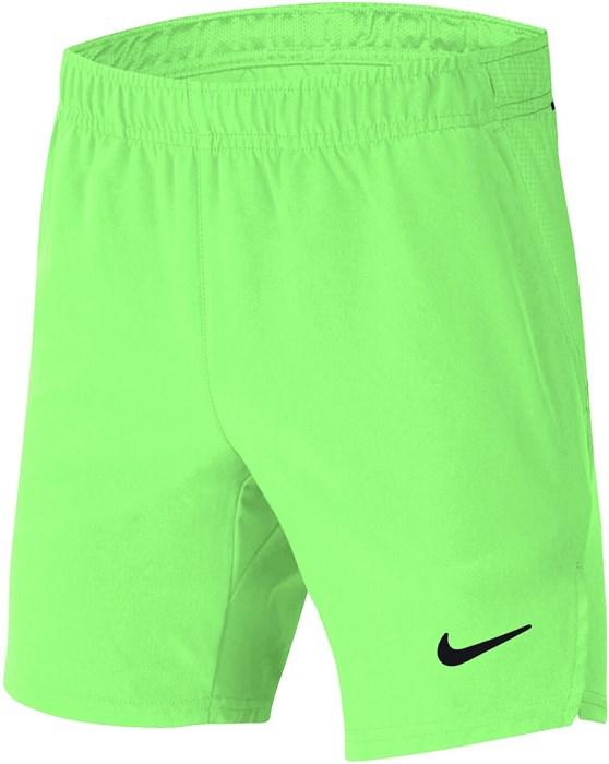 Шорты для мальчиков Nike Court Flex Ace Light Green  CI9409-345  fa21 - фото 24550