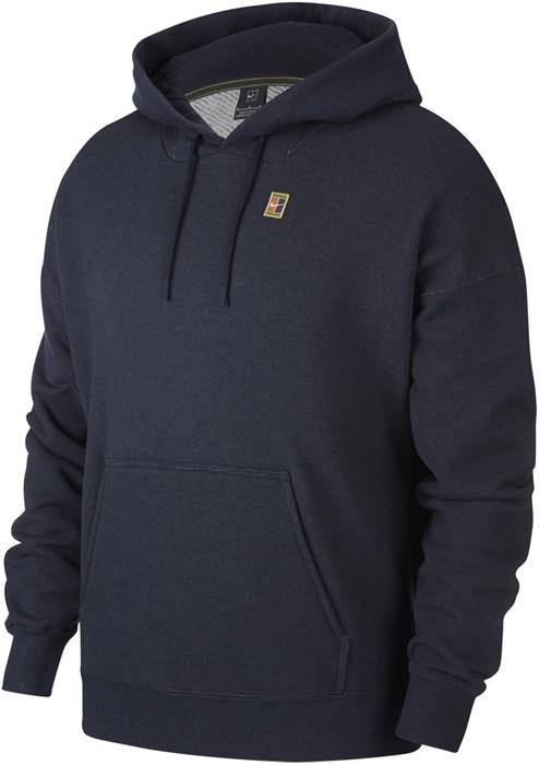 Кофта мужская Nike Court Fleece Hoodie Obsidian  BV0760-452  su21 - фото 24721