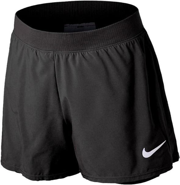 Шорты для девочек Nike Court Dri Fit Victory 3 Inch Black  DB5612-010  su21 - фото 24734